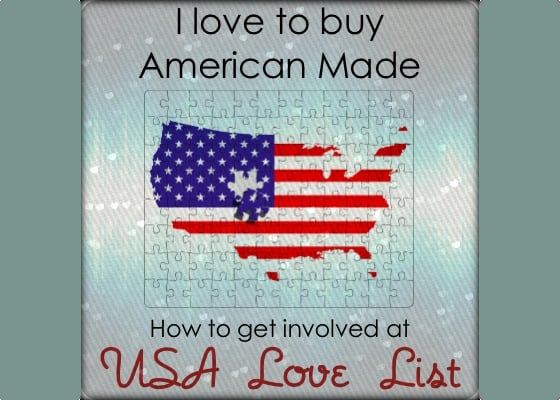USA Love List- 5 simple ways to get involved (with 5 more to come)