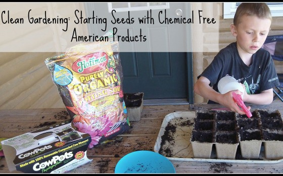 Clean Gardening: A Video Lesson on Starting Seeds with Chemical Free American Gardening Supplies