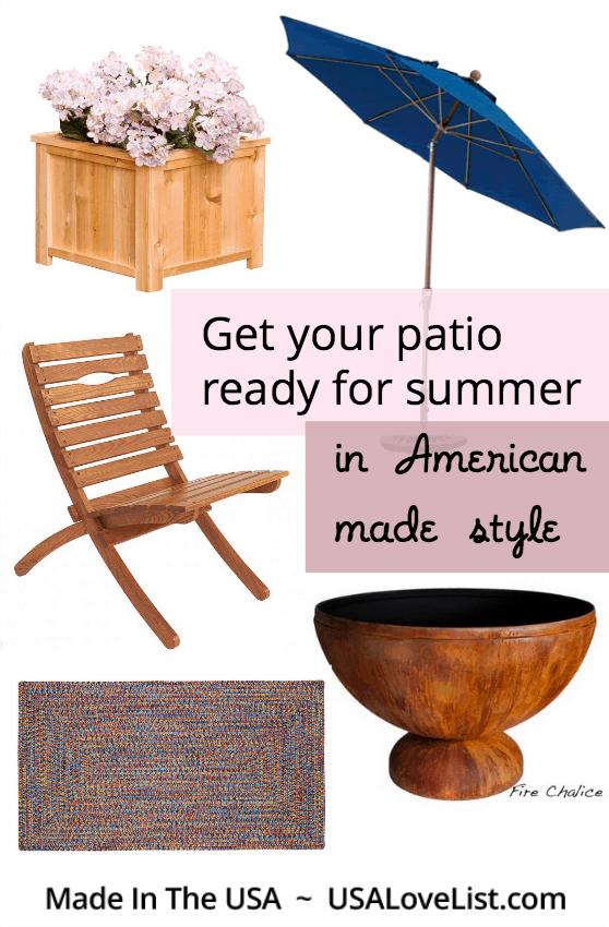 Stylish summer patio ideas
