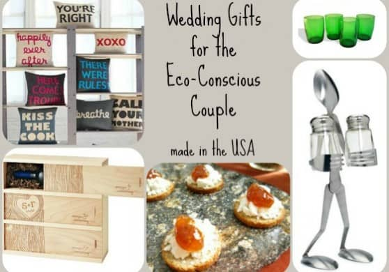 Cool Wedding Gift Ideas For Couples : Unique American-made Wedding Gift Ideas for the Eco-Conscious Couple ...