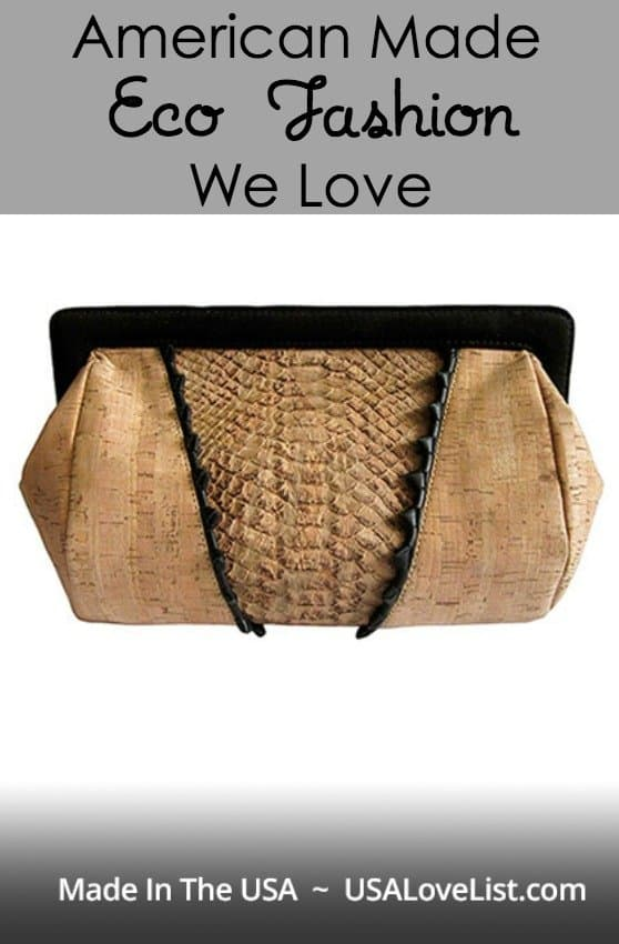American Made Eco Fashion We Love via USALoveList.com