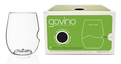 American Made Picnic Essentials | Govino Shatterproof Wine Glasses | USALoveList.com #usalovelisted #picnic
