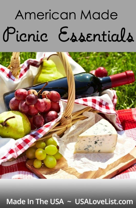 American Made Picnic Essentials via USALoveList.com