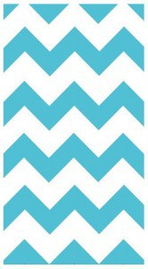 Chevron Beach Towel Made in USA