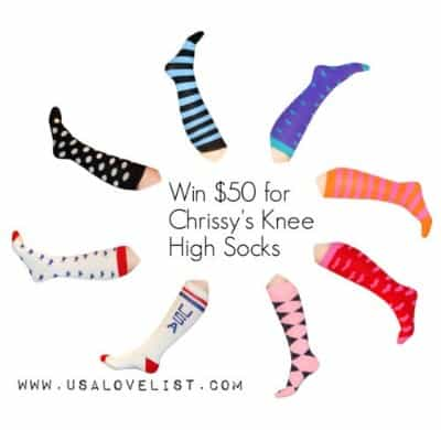Chrissy's Knee High Made in USA Socks