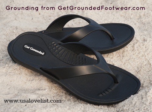 Grounding Footwear Made in USA Flip Flops