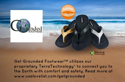 GetGrounded Made in USA Flip Flops
