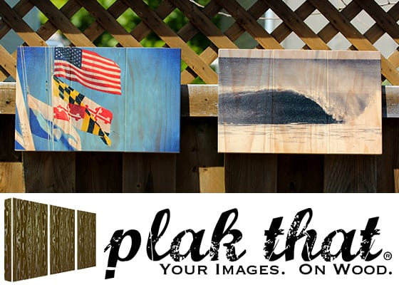 Giveaway: Plak That – Your Photos On Wood