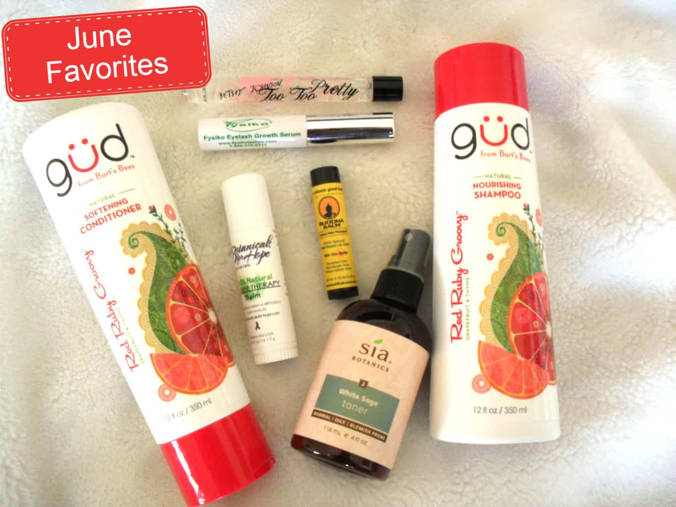 Made in USA Beauty Products:  June Favorites