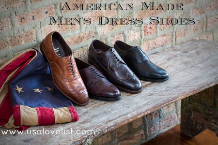 American made Shoes for men
