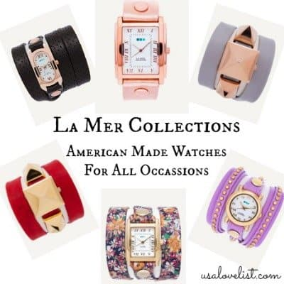 La Mer Collections Made in USA Watches