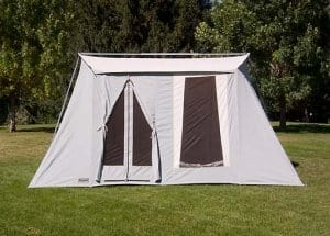 Kirkhams Springbar Canvas Tent | Family size | Made in USA