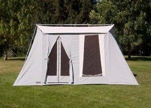 Kirkhams Springbar Canvas Tent | Family size | Made in USA