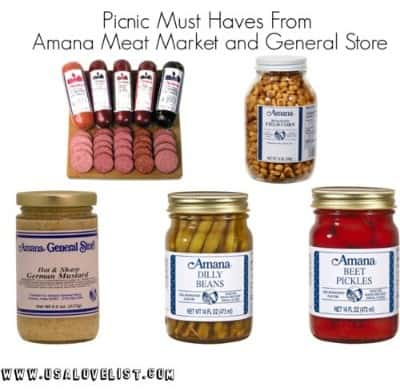 Made in Iowa Products From Amana Shops