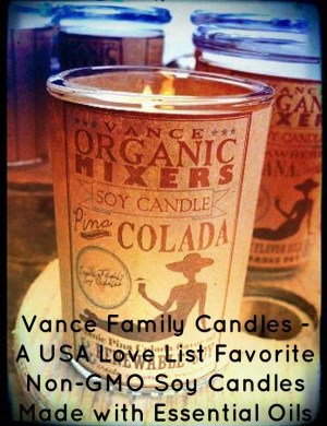 Vance Family Soy Candles: Natural Candles We Love, Made in USA