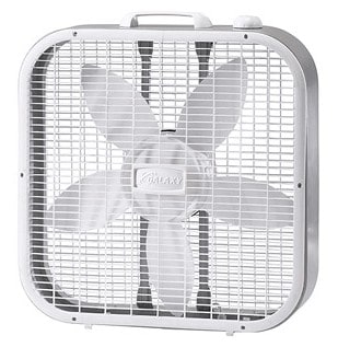 How to stay cool this summer: Galaxy box fan by Lasko #madeinUSA