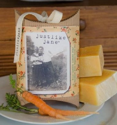 Just Like Jane soaps made in Idaho