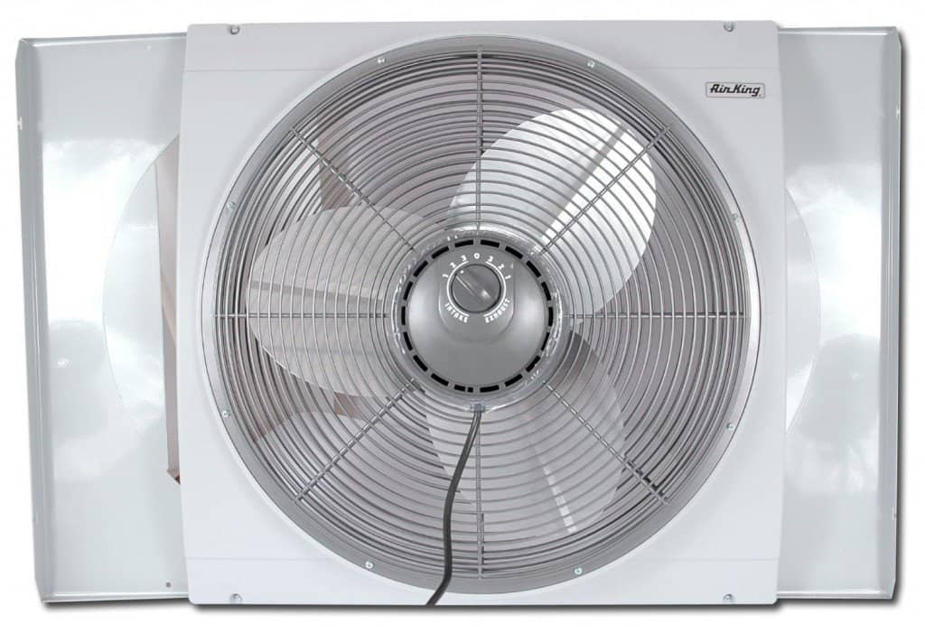 Air King window fan #madeinUSA