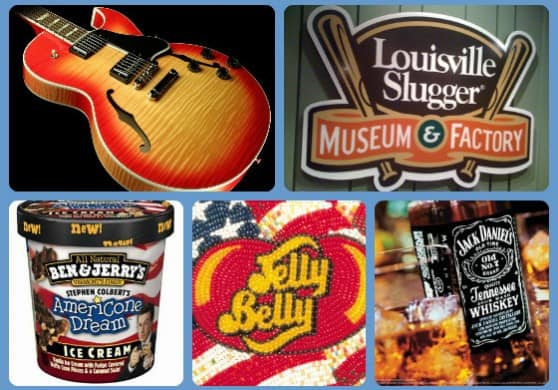 American Made Factory Tours Around The Country | USA Love List #AmericanMade #Travel