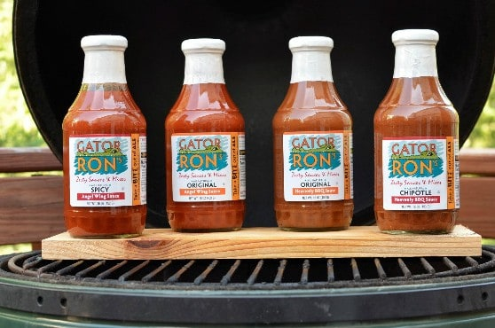 Gator Ron's Sauce Made in Maryland