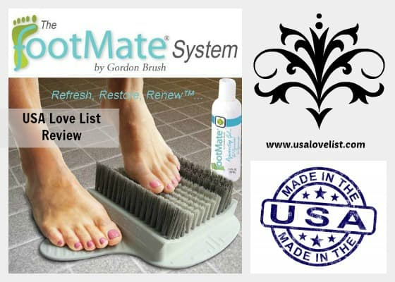 The Finest Foot Care Made in the USA: Review of The FootMate System by Gordon Brush