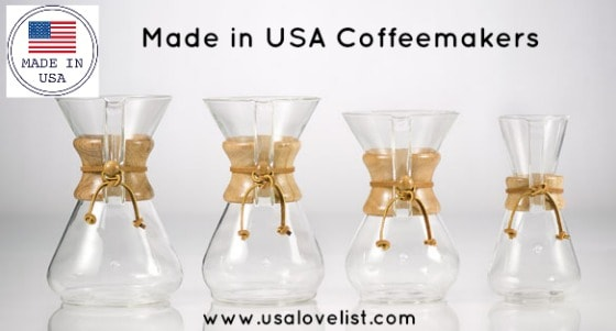Coffee Makers Made in the USA, plus Tea Kettles and a Wine Corker Too