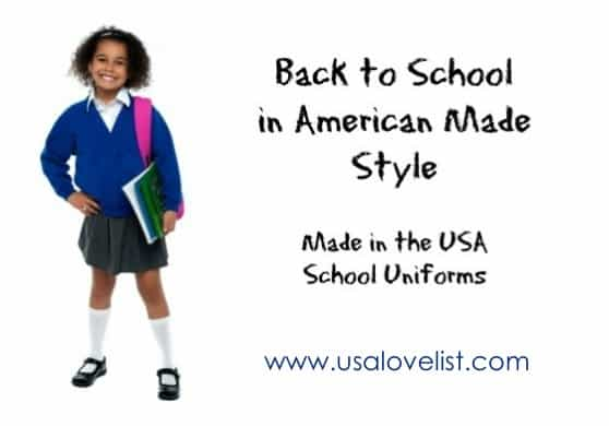 Made in the USA School Uniforms