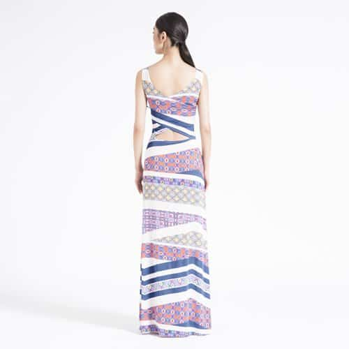 American Made Fashion - Leota Maxi Dress Made in NYC via USALoveList.com