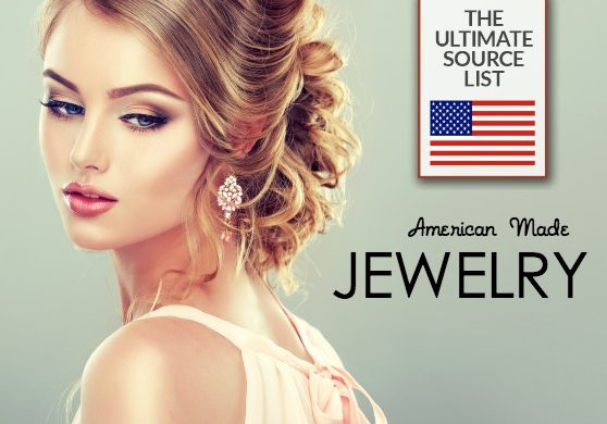 Jewelry source list made in USA