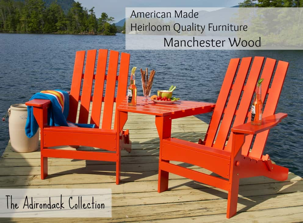 The Adirondack Collection by Manchester Wood