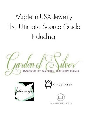 Made in USA Jewelry Featuring Garden of Silver
