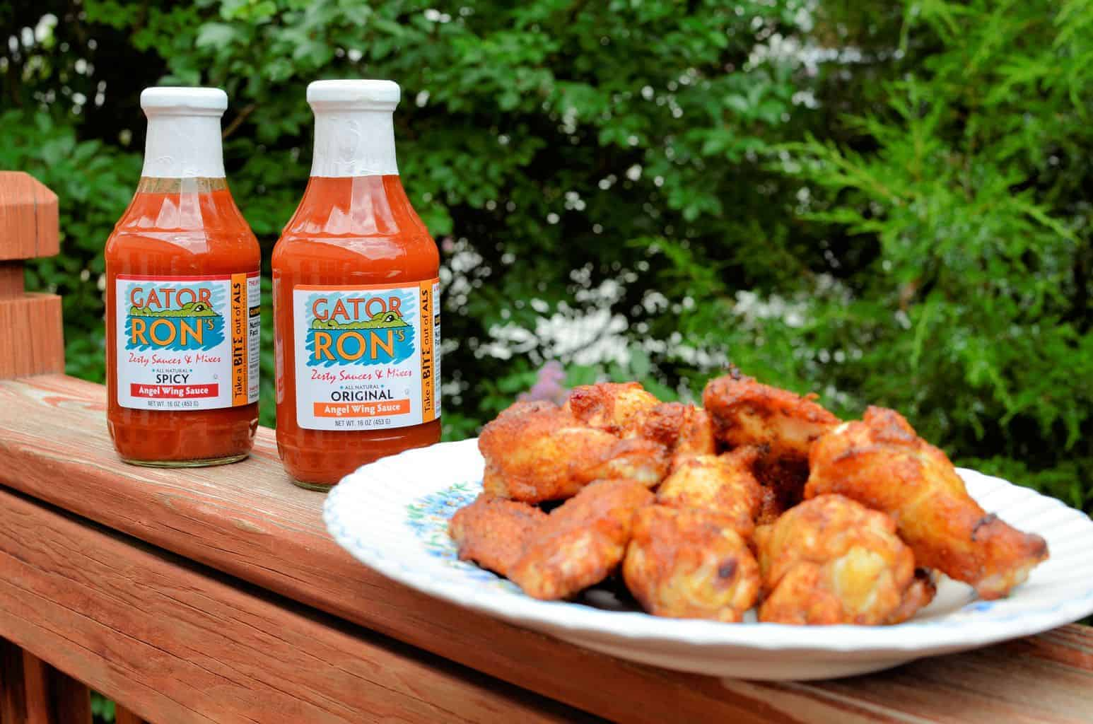 Grilling the Perfect Wings with Gator Ron's – Made in the USA Sauces