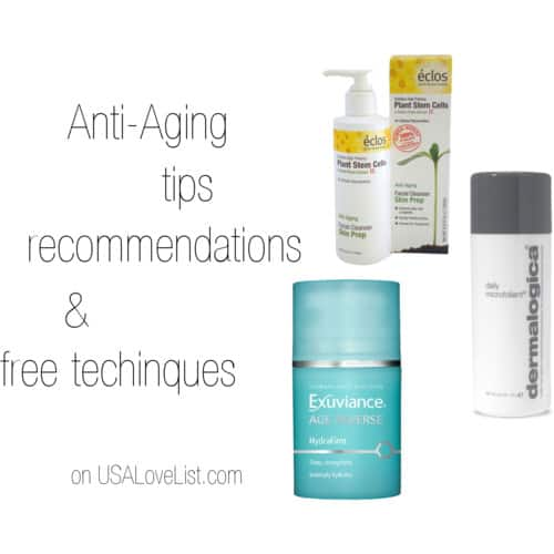 A Simple Anti Aging Regimen Using Results-Oriented American Made Beauty Products