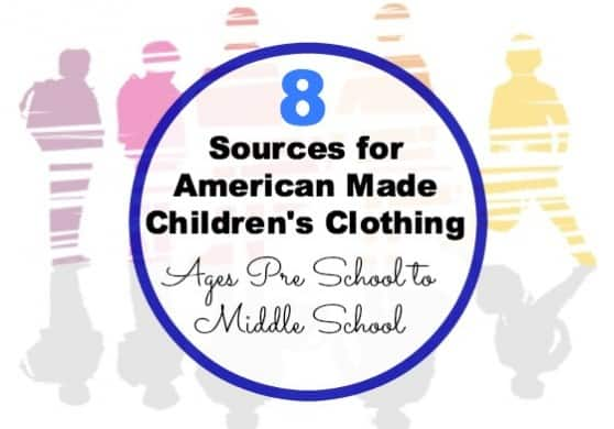 American made children's clothing via USA Love List