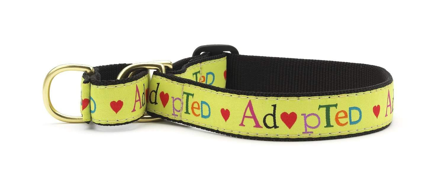 "National Dog Day | ""Adopted"" collar 