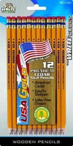 USA Gold pencils | Eco friendly + made in USA | Back to school shopping list