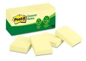 Post it Greener Notes | Back to School shopping list | Eco friendly | Made in USA