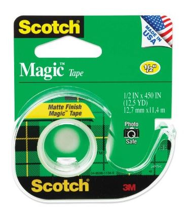 Made in USA school supplies: Scotch tape #usalovelisted #backtoschool #schoolsupplies #madeinUSA