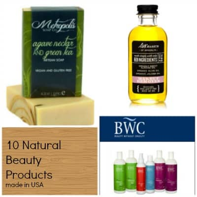 10 Made in USA Natural Beauty Products