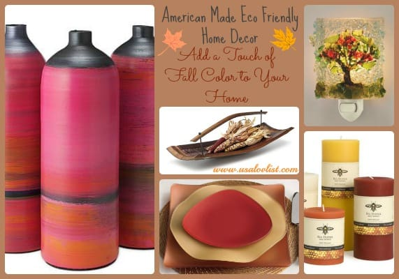 American Made, Eco Friendly Fall Decor: Add A Touch Of Autumn To Your Home