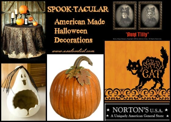 Norton's U.S.A: Our Favorite Source For American Made Halloween Decorations