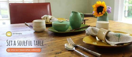 Made in USA Tabletop Finds From Catherines Table
