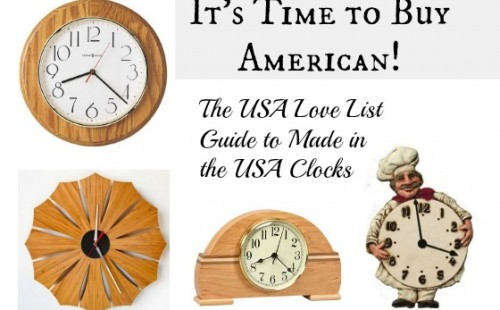 Made in the USA Clocks