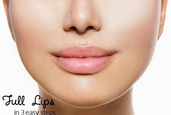 3 Easy Steps to Get Full Lips Using American Made Beauty Products