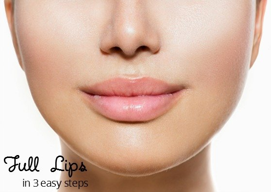 3 easy steps to get full lips natural beauty tips