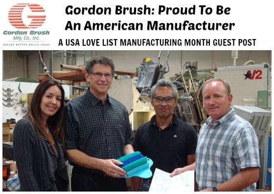 Gordon Brush: Proud To Be An American Manufacturer {Guest Post}