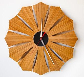 Bloom Wall Clock by Schmitt Design #madeinUSA