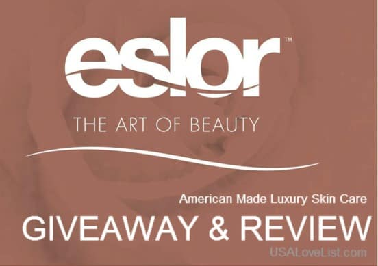 Win Instant Radiance From Eslor Beauty {American Made Skin Care Giveaway}