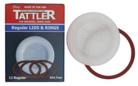 Made in USA Canning supplies: Tattler lids and rings #canning #preserving #usalovelisted
