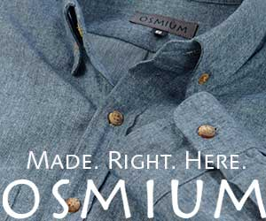Men's Shirt Made in USA by Osmium